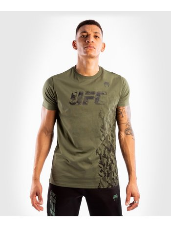Venum UFC Venum Authentic Fight Week T-shirt Khaki