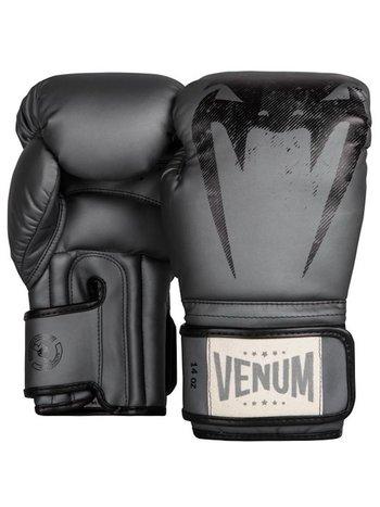 Venum Venum Giant Muay Thai Sparring Boxing Gloves Silver Grey