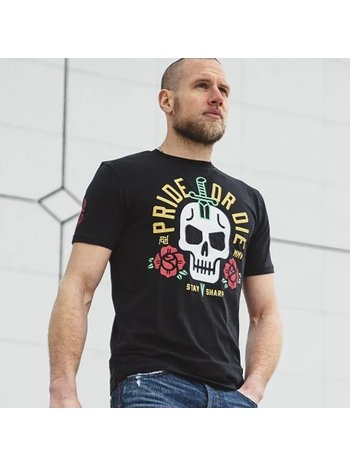 Pride or Die Pride or Die T Shirt Stay Sharp Zwart