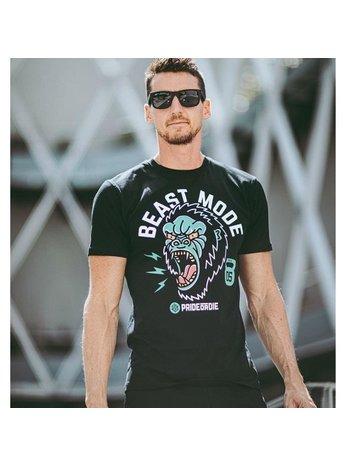 Pride or Die PRiDEorDiE T-Shirt Raw Beast Mode Schwarz