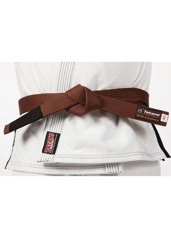 Tatami Fightwear Tatami Adult BJJ Rank Belt Brown | Brazilian Jiu Jitsu