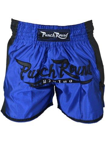 PunchR™  Punch Round™ FTX Muay Thai Short Blue Black