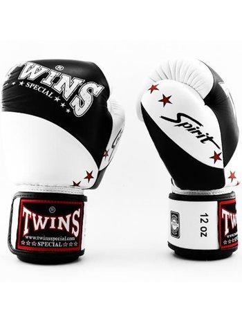 Twins Special Twins (Kick) Boxing Gloves BGVL 10 Black White