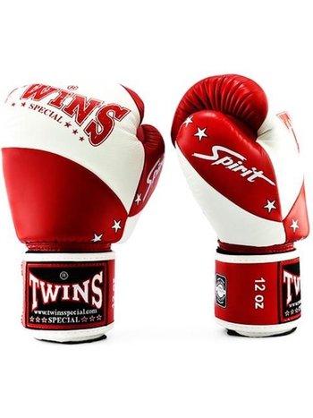 Twins Special Twins (Kick) Boxhandschuhe BGVL 10 Weiß Rot