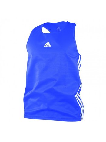 Adidas Adidas Amateur Boxing Tank Blauw Wit