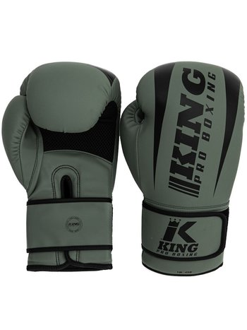 King Pro Boxing King Pro Boxing KPB/REVO 5 Bokshandschoenen Kaki Groen Zwart