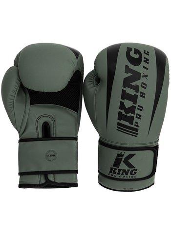King Pro Boxing King Pro Boxing KPB/REVO 5 Boxhandschuhe Khaki Grün Schwarz