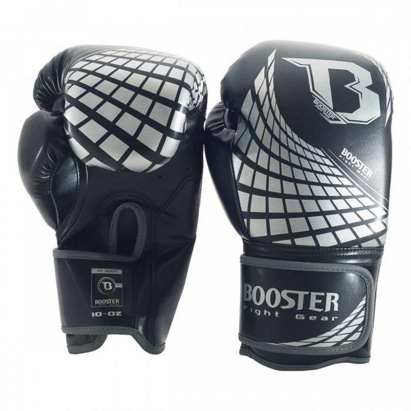 Booster Booster BFG CUBE Boxing Gloves Black Silver