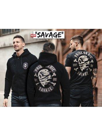 Pride or Die Hoodie PRiDEorDiE SAVAGE Black