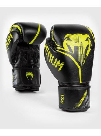 Venum Venum Contender 1.2 Boxing Gloves Black Yellow PU