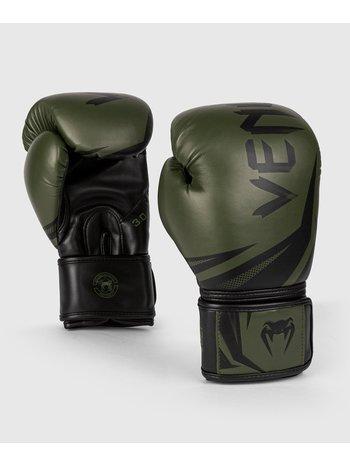 Venum Venum Challenger 3.0 Boxing Gloves Khaki Black PU
