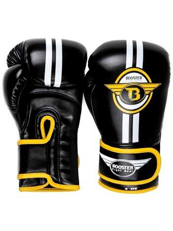 Booster Booster Kinder Boxhandschuhe BG Youth ELITE 3 Schwarz Gelb
