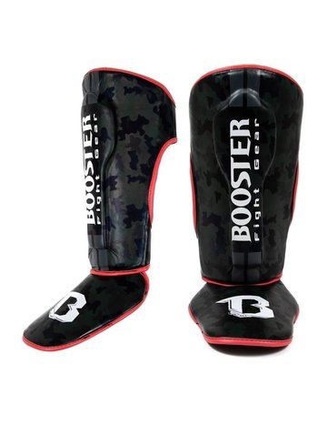 Booster Booster SG Youth Kickboxing Shinguards Black Camo