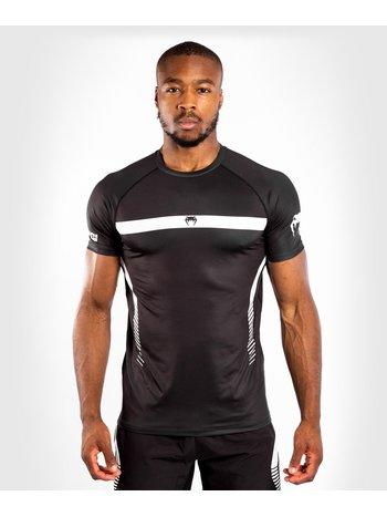 Venum Venum NOGI 3.0 Dry Tech T-Shirt Schwarz Weiß