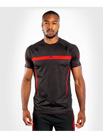 Venum Venum NOGI 3.0 Dry Tech BJJ T-Shirt Schwarz Rot
