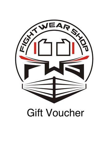 Fightwear Shop Gift Voucher Fightwear Shop