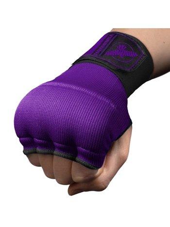 Hayabusa Hayabusa Quick Gel Boxing Hand Wraps Paars Zwart