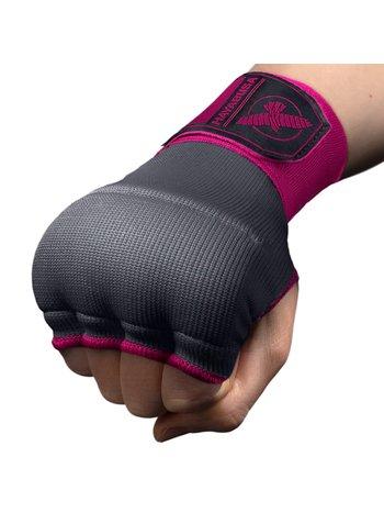 Hayabusa Hayabusa Quick Gel Boxing Handbandagen Grau Rosa