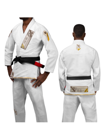 Hayabusa Hayabusa Ascend Lichtgewicht BJJ Jiu Jitsu Gi Wit