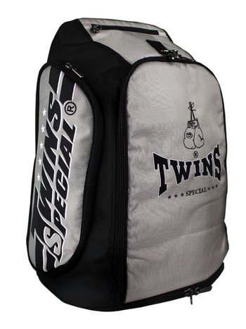 Twins Special Twins Sporttasche Rucksack Gym Bag CBBT 2 Silber Schwarz