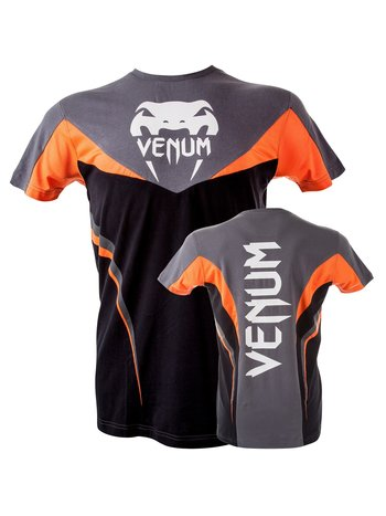 Venum Venum Shockwave 3.0 T-Shirt Schwarz Orange Grau