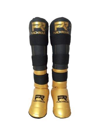 PunchR™  Punch Round Schienbeinschöner Experience Schwarz Gold