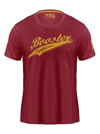 Booster Booster Vintage Slugger T Shirt Rood Booster Vechtsport Kleding