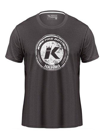 King Pro Boxing King Pro Boxing KPB Vintage Logo T-Shirt Grau