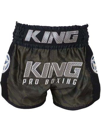 King Pro Boxing King Pro Boxing KPB PRO STAR 1 Camo Muay Thai Short