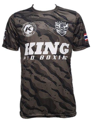 King Pro Boxing King Pro Boxing Star 2 Camo Performance Aero Dry T-shirt