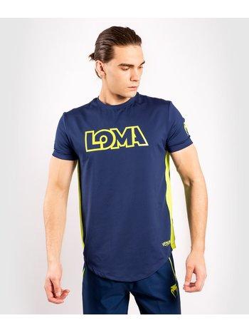 Venum Venum Origins Dry-Tech T-Shirt Blau Gelb