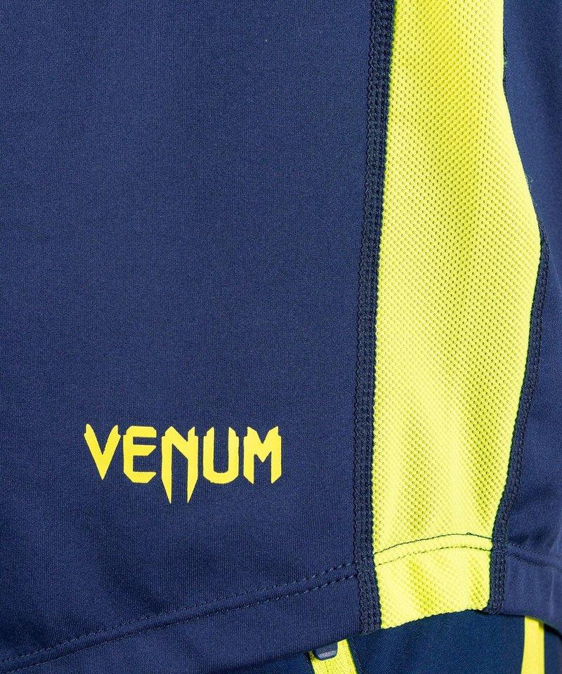 Venum Venum Origins Dry-Tech T Shirt  Blue Yellow