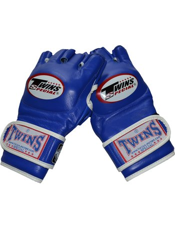 Twins Special Twins GGL-6 MMA Gloves Blue Leather