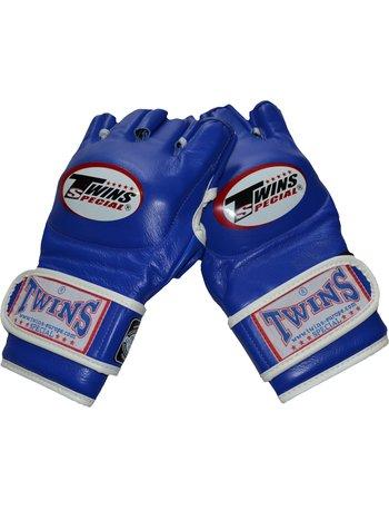 Twins Special Twins GGL-6 MMA Handschuhe Blau Leder