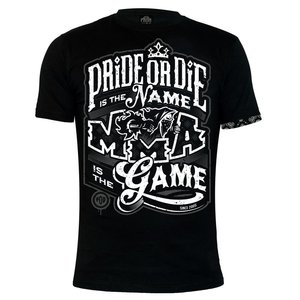 """Pride or Die Pride Or Die Mixed Martial Arts Clothes T-Shirt """"IDENTITY"""""""