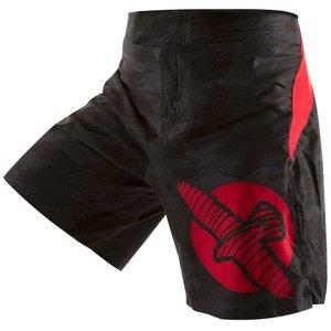 Hayabusa Hayabusa WELD3 Fight Shorts Black Red MMA Kleding