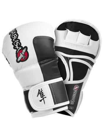 Hayabusa Hayabusa Tokushu 7 OZ MMA Hybrid Sparring Handschuhe Weiß