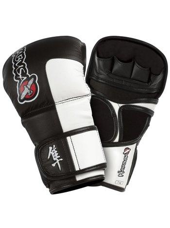 Hayabusa Hayabusa Tokushu 7oz MMA Hybride Sparring Handschoenen Zwart