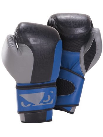 Bad Boy Legacy Boks Handschoenen Boxing Gloves Black Grey Blue