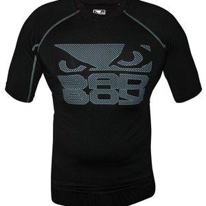 Bad Boy Bad Boy Engage SS Performance Top Rashguard Black IBJJF