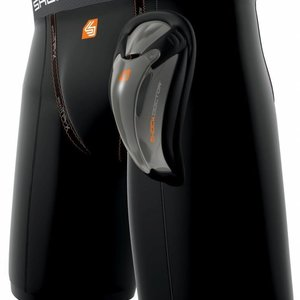 Shock Doctor Shock Doctor SD221 Compression Short With Bio Flex Cup Black