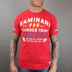 Scramble SCRAMBLE Kaminari T Shirts red by Scramble Fightwear