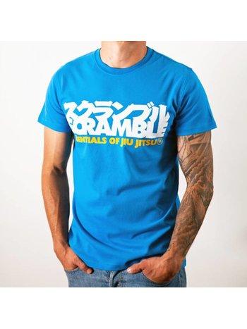 Scramble SCRAMBLE BJJ Essentials T Shirt Blue BJJ Fightwear