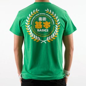 Scramble SCRAMBLE BJJ Essentials T Shirt Green by Scramble Fightwear