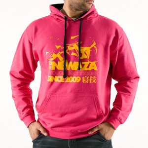 Scramble SCRAMBLE Newaza Hoody Hot Pink by Scramble Fightwear