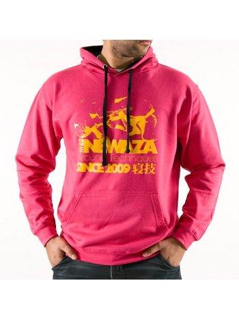 Scramble SCRAMBLE Newaza Hoody Hot Pink by Scramble Fightwear