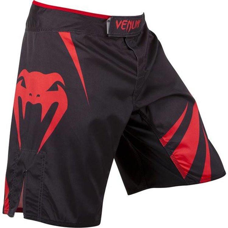 Venum MMA Fight Shorts Challenger Black Red Venum MMA Bekleidung
