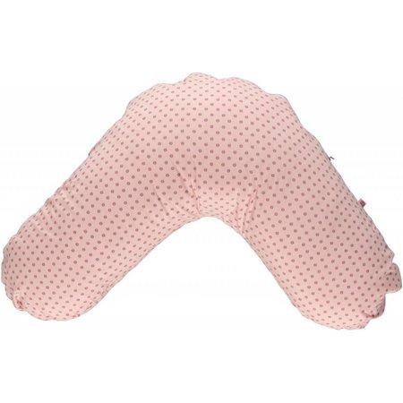 Småfolk - bunte skandinavische Mode rosa Stillkissenhülle von Smafolk