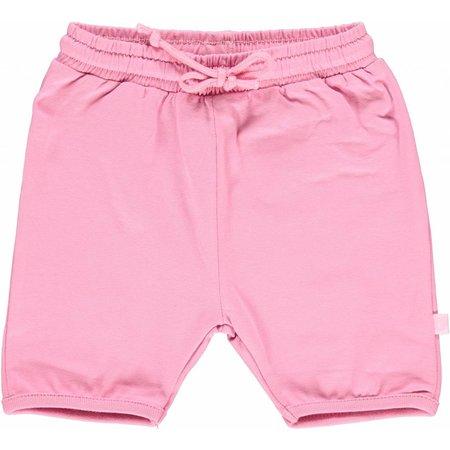 Småfolk - bunte skandinavische Mode rosa Baby Shorts BIO uni BIO (GOTS) von Smafolk