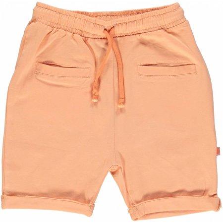 Småfolk - bunte skandinavische Mode orange Baby Shorts BIO uni BIO (GOTS) von Smafolk